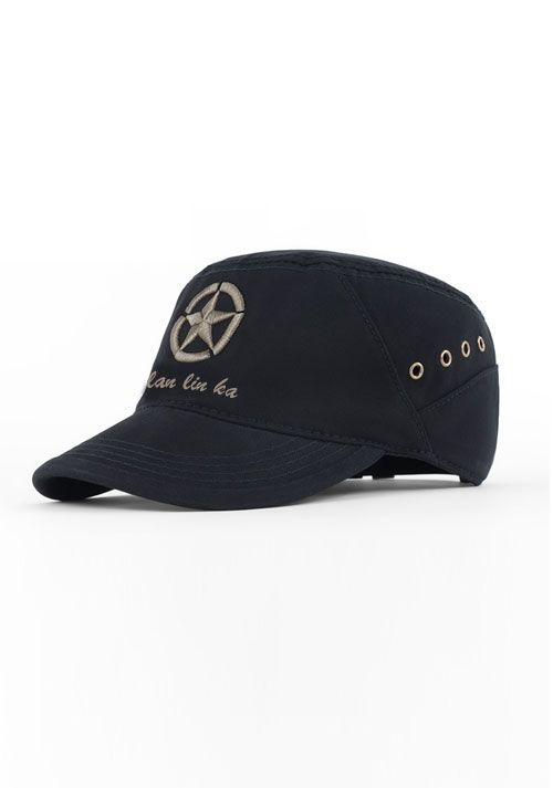 户外休闲版黑色帽